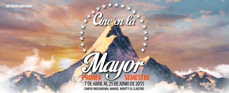HOY COMIENZA Ciclo de Cine en la Mayor Conoce la cartelera e inscríbete en http://www.umayor.cl/cine-en-la-mayor/ #Panorama #Cine #Pelis #7ºarte