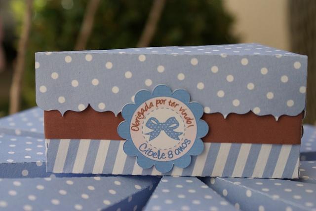Fatia de bolo em papel: ótimo para rechear de doces e dar de lembrancinha  Lembrancinha de Aniverário by PraGenteMiúda, via Flickr