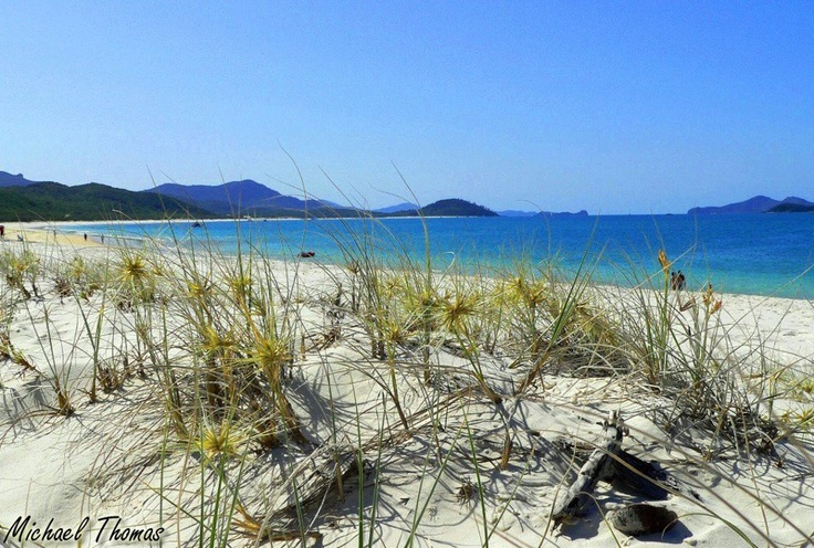 Whitehaven Beach, QLD: Kids Laughing, Photo