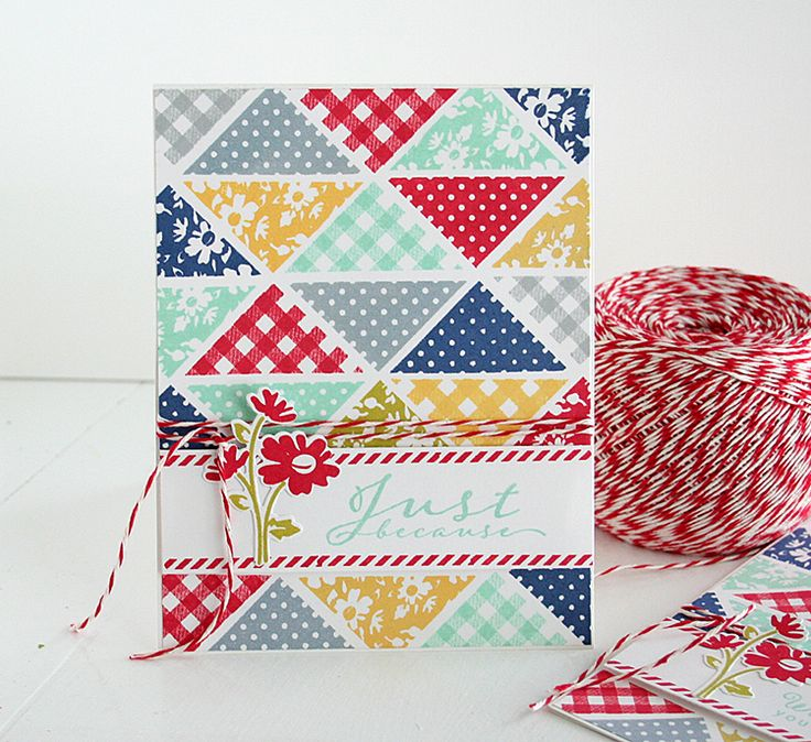 201 best Quilted Cards I Like images on Pinterest | Paper quilt ...