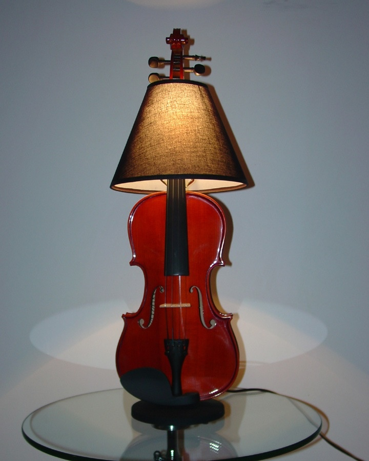 Violin Lamp Other Products By Dan Leap Piano Lamps