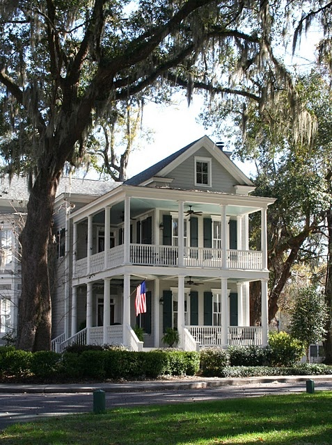 211 best images about exteriors on pinterest cottages for Southern homes with porches