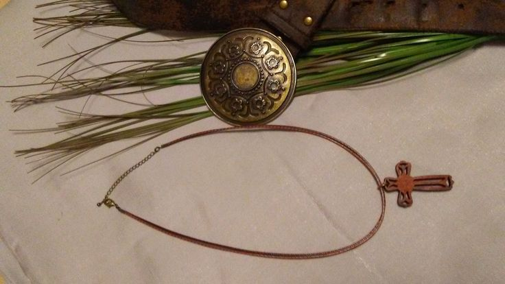 Mens Wooden Cross Necklace