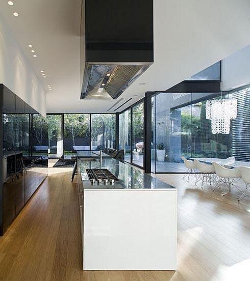 pin von miudezas auf architecture pinterest modernes wohnen moderne k che und k che. Black Bedroom Furniture Sets. Home Design Ideas