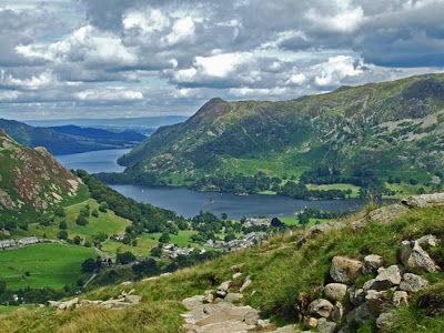 Helvellyn, Lake District, English mountains, walking in Britain