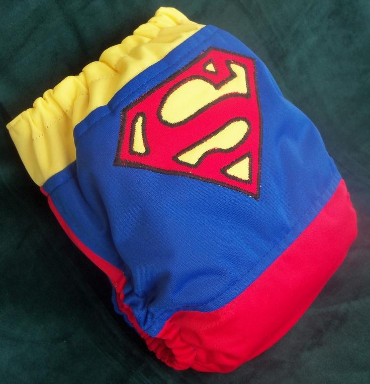 Superman diaper