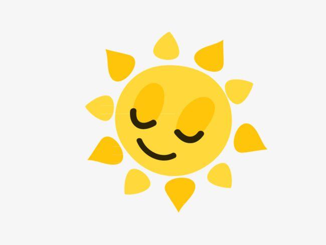 Vector Cartoon Sun Png And Vector Cartoon Sun Winter Crafts For Kids Weather Clipart