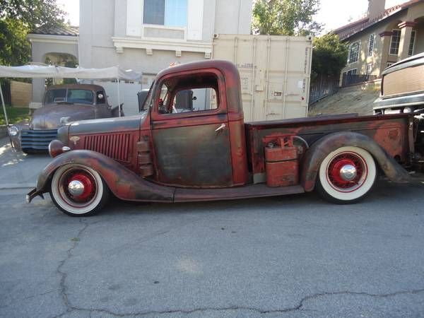 1936 Ford Pickup Rat Rod Hot Rods Hot Rod Trucks Rat Rod Pickup