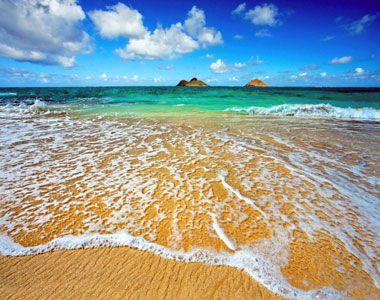 Lanikai Beach, Hawaii, on Oahu