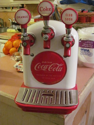 1950s Coca Cola Coke Tombstone Cornelius Soda Fountain Dispenser