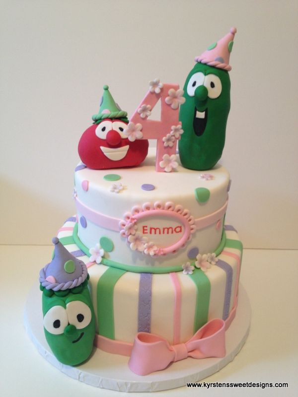 Veggie Tales Birthday!