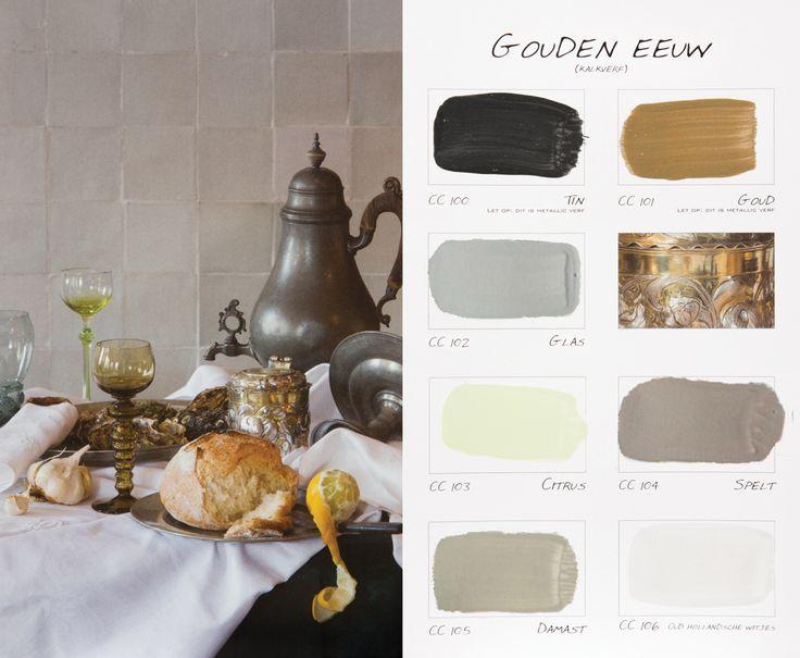 Carte Colori kleurenkaart `Gouden Eeuw`http://www.paint-and-decorations.nl/Webwinkel-Category-5507569/Carte-Colori-Kalkverf.html