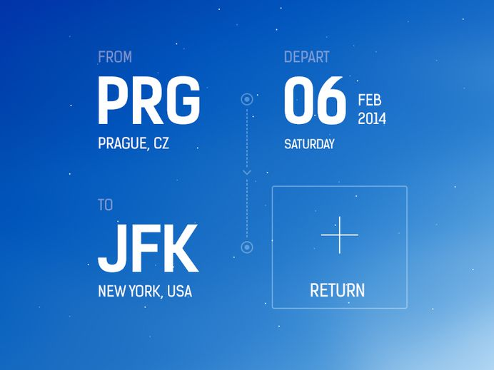 Flight Booking App Concept — Designspiration