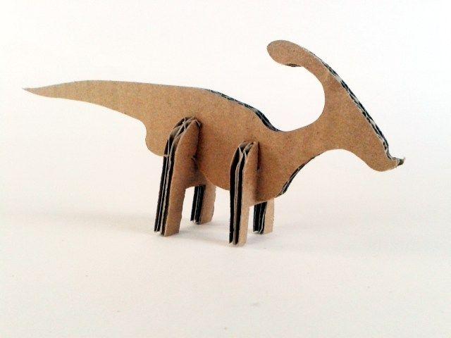 kartonowe dinozaury - 1- 2, Zabawki, karton, tektura, zwierzaki, cardboard, toys, dzieci, kids, dinosaurs