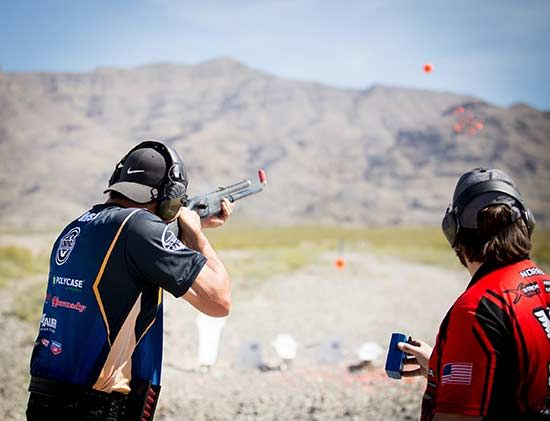 Train With The Pros! Make New Friends! Hone Your Shooting Skills! | NSSF Fall 2017 Fantasy Camp Oct. 26–29, 2017 Only A Few Slots Remain So Don't Wait Too Long … | By Suzi Huntington | At NSSF Fantasy Camp, accomplished competition shooters, winners-all, stay right at your elbow walking you through the tips, tricks and training you need to hone your shooting skills. And, everyone is invited!