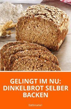 Gelingt im Nu: Dinkelbrot selber backen | eatsmarter.de