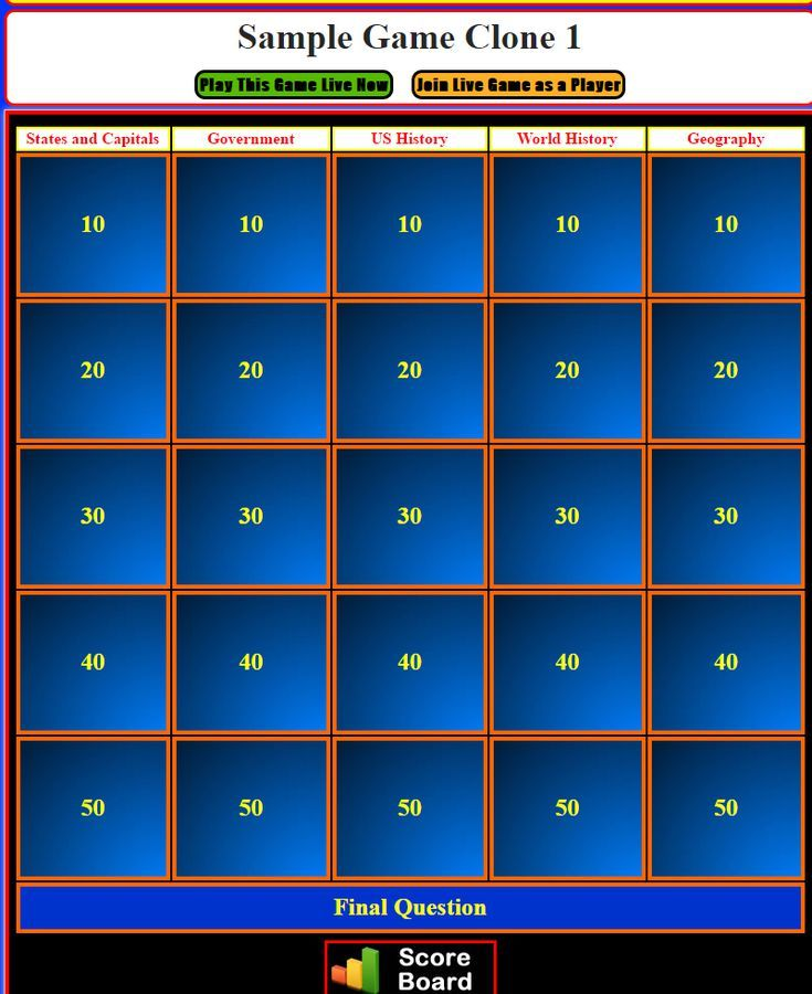 Best 25 powerpoint maker ideas on pinterest teacher stuff review and teach with these free jeopardy powerpoint templates instant jeopardy template maker toneelgroepblik Images