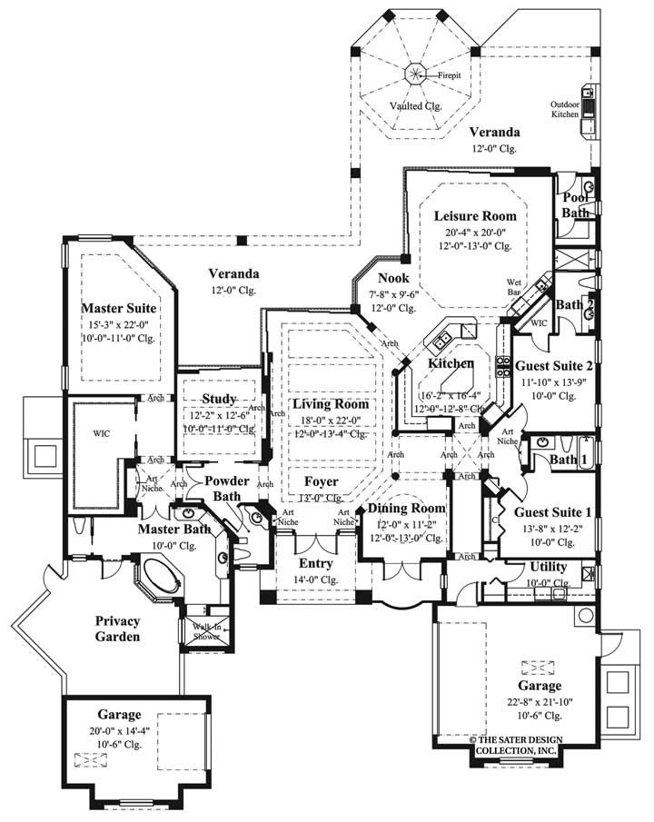 100 ideas to try about mediterranean house plans the for Sater design house plans