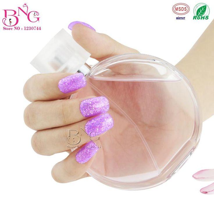 Уф цветные блеск гель # 1 фиолетовый цвет 5 г длительный выдерживает от уф-гель лак для ногтей ногтей маникюр косметические лаки