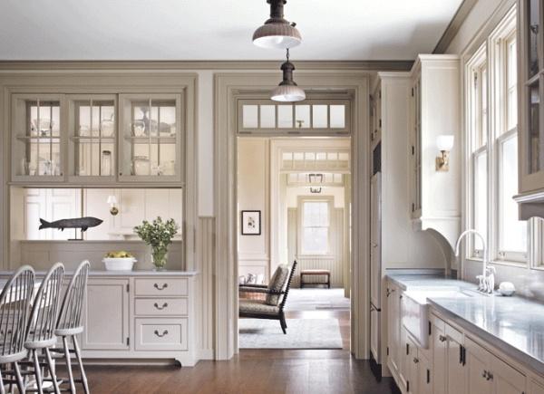 Victoria Hagan Interiors, Verglasung über Tür