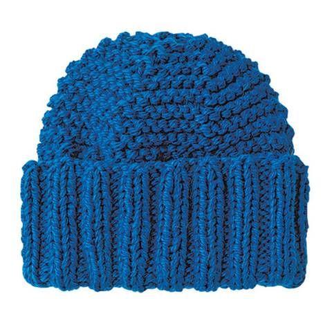 Mütze mit breitem Bündchen