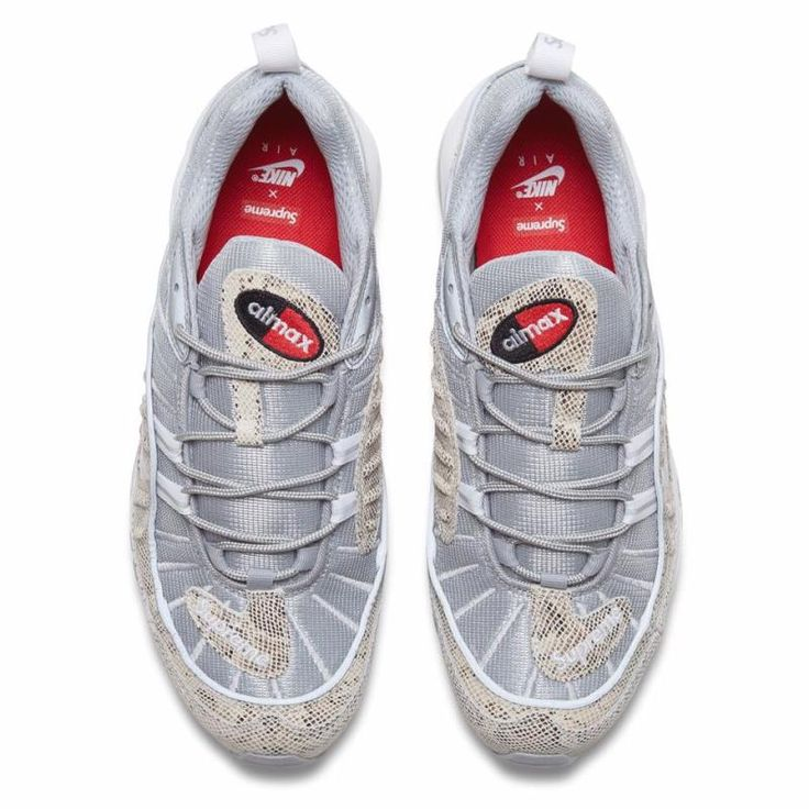 Supreme Nike Air Max 98 Snake Online Release   Solecollector