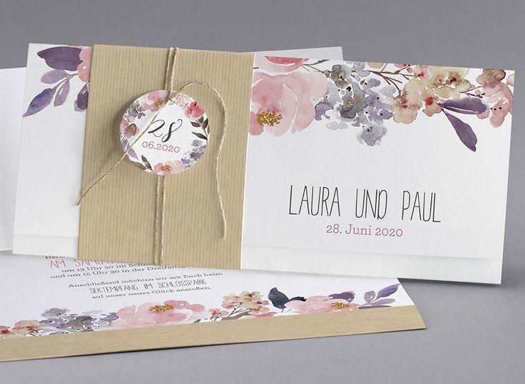 Schön Vintage Hochzeitskarten #Hochzeitskarten #kreativehochzeitskarten # Einladungskarten