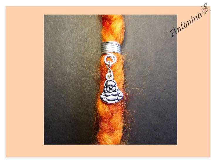 Dread Schmuck Buddha Anhänger Bead Metall - ein Designerstück von Antonina bei DaWanda