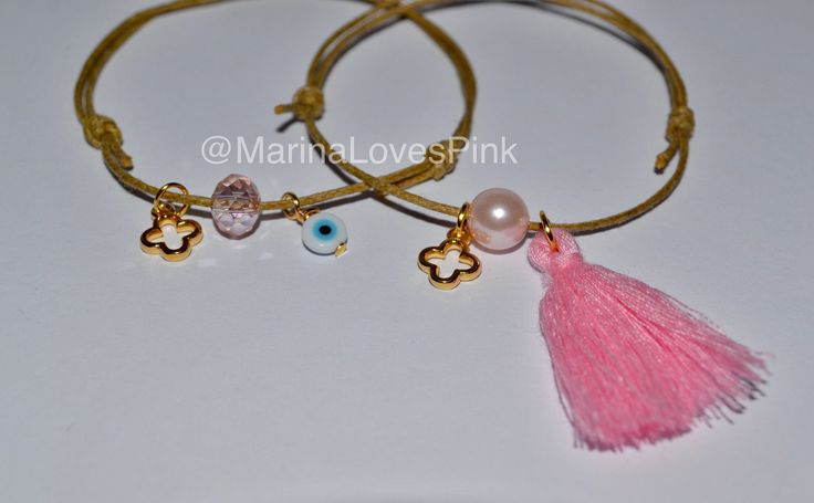 A personal favourite from my Etsy shop https://www.etsy.com/listing/475803235/martyrika-10x-pink-pearl-tassel-and
