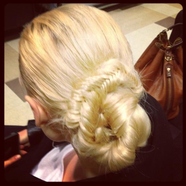 wrapped fishtail braidBraids Wraps, Hairdos, Hair Style, Fishtail Braids, Wraps Fishtail