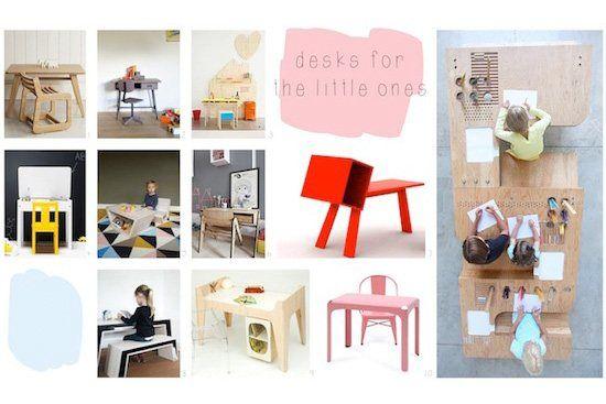 Van kinderhoek tot stylish mini 'kantoor'