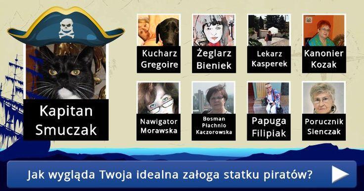 Jak wygląda Twoja idealna załoga statku piratów?