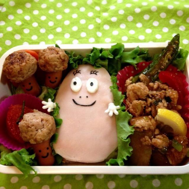 昨日の晩ご飯のまわし〜 ちびめがちゃんの冬瓜の炒め物は、 お弁当用に焼肉のたれで軽くテリをいれました。 味がしみて二度美味しいね〜ヽ(*^∇^* ・ちびめがちゃん! 冬瓜と鶏モ 挽肉のオイスター炒め ・鶏肉団子のキノコちゃん ・トマトのマリネ - 204件のもぐもぐ - 女の子弁当バーバパパ ちびめがちゃん!冬瓜と鶏挽肉のオイスター炒め by 1125shino
