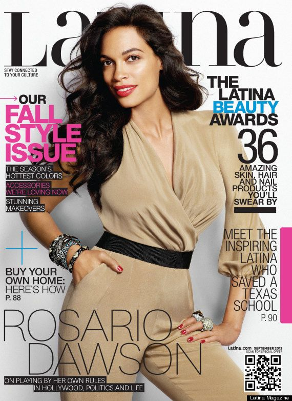 Rosario Dawson for Latina Magazine, September 2012