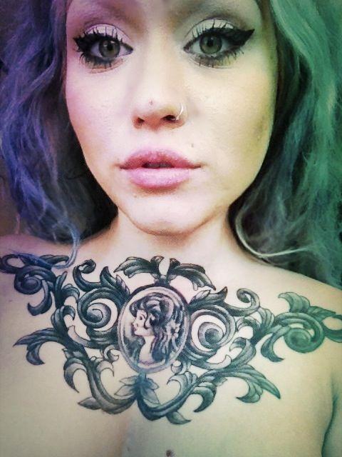 cameo tattoos | Cameo Tattoo Tumblr Picture