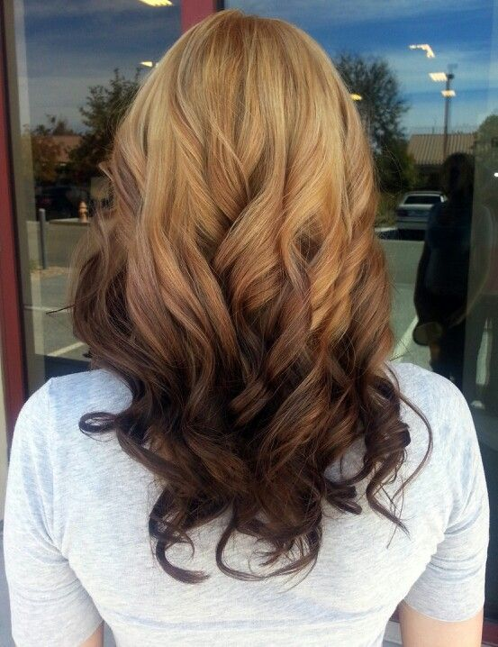39 best reverse balayage darker on the ends images on pinterest reverse ombre blonde to brown solutioingenieria Choice Image
