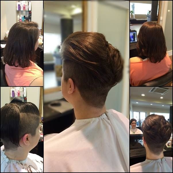 #short cut #undercut