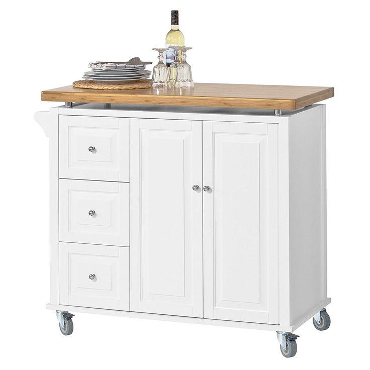 Les 25 meilleures id es concernant chariots de cuisine sur pinterest panier - Meuble cuisine sur roulette ...