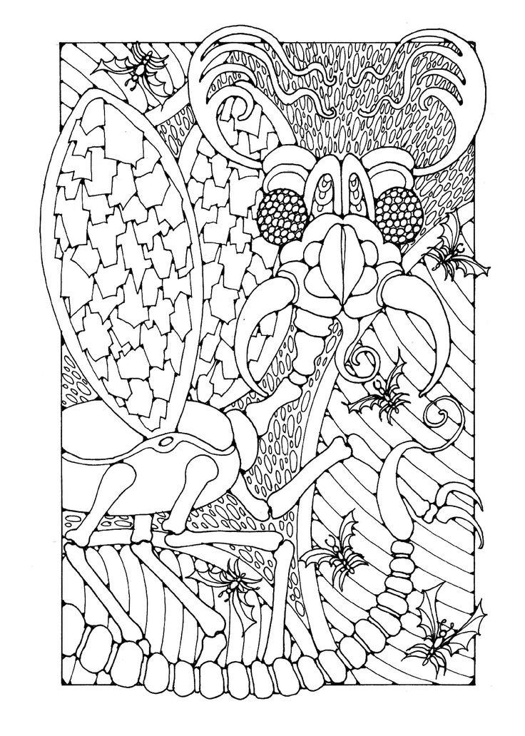 fantasía-colorear-página-61