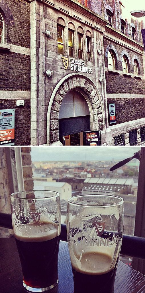 Go to the Guinness Brewery in Dublin: Source: Instagram user danmumford, Instagram user followthefrog