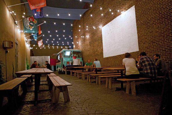 Outdoor Beer Garden: Memphis Tap Room, Philadelphia