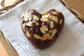 「バレンタインにハートのブリオッシュ」 chi- | お菓子・パンのレシピや作り方【corecle*コレクル】