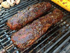 Zutaten für 1,25 kg Schweinefilet: 160 ml Balsamico-Essig 80 ml Olivenöl 2 EL Sojasoße 4 TL brauner Zucker 3