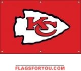 Chiefs Fan Banner 2ft x 3ft