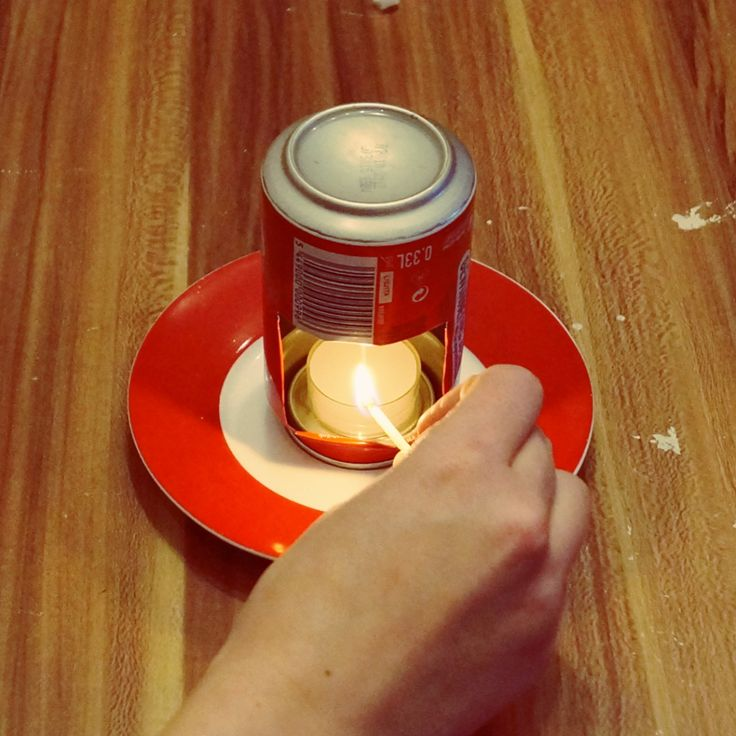 DIY Duftlampe aus Dose / Upcycling
