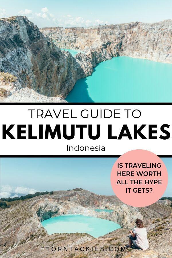 Explore Kelimutu Crater Lakes on Flores Island, Indonesia
