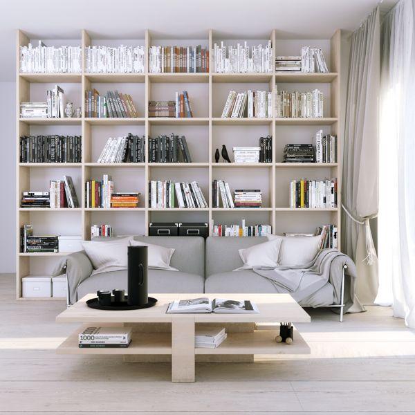 Library by Juraj Talcik, via Behance