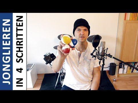 Jonglierschule [Deutsch] [HD] - Jonglieren lernen in 4 einfachen Schritten - YouTube