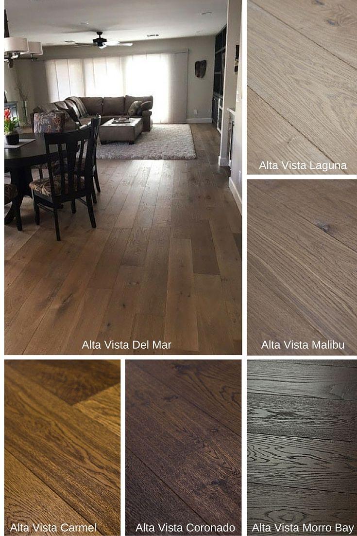 "Alta Vista Collection 7 1/2"" wide engineered hardwood flooring"