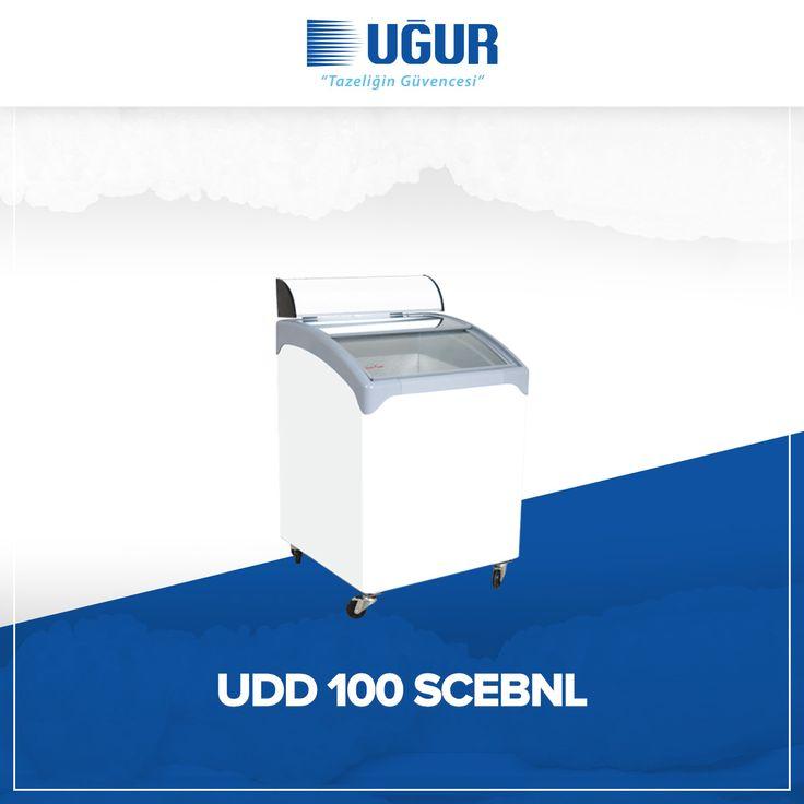 UDD 100 SCEBNL birçok özelliğe sahip. Bunlar; 5 farklı model seçeneği, dondurma ve dondurulmuş ürünler için ideal soğutma ve mükemmel sunum imkanı, dijital veya serigrafi marka uygulama seçeneği ve hareket serbestliği sağlayan güçlü tekerlekler. #uğur #uğursoğutma